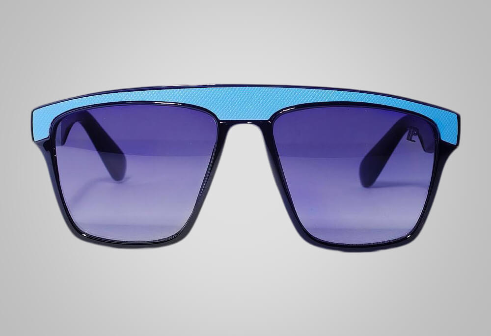 futuristic eyewear blue lepremier miami custom